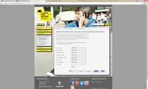 Website Jugend und Medien