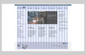 Website Pädagogische Hochschule Zürich