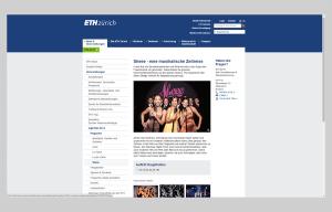 Screenshot Website togETHer 2014