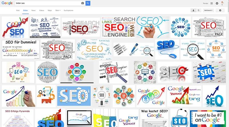 Bildersuche von Google